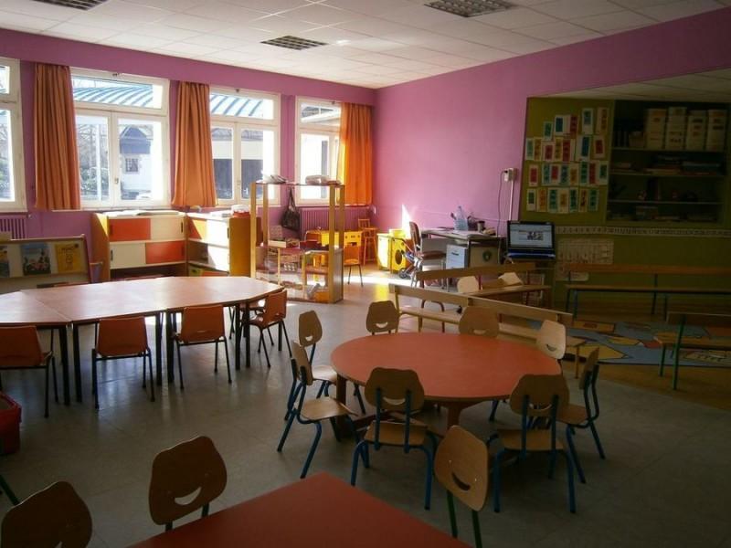Salle de classe en maternelle